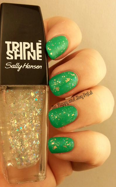 Sally Hansen Triple Shine Pearly Whites, Sally Hansen Kiwi Bikini | Be Happy And Buy Polish