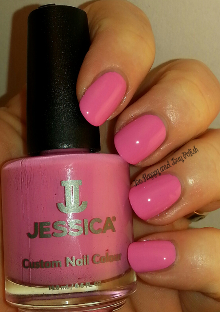 Jessica Cosmetics Pink Shockwaves   Be Happy And Buy Polish