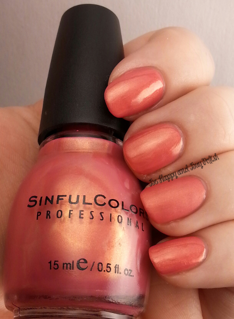 Sinful Colors Sharon's Heart | Be Happy And Buy Polish