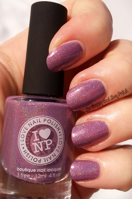 I Love Nail Polish Dreaming in Violet | Be Happy And Buy Polish