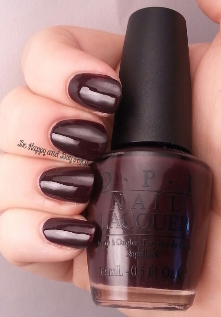OPI William Tell Me About OPI | Be Happy And Buy Polish