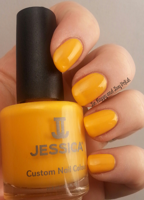 Jessica Cosmetics Yellow Lightning | Be Happy And Buy Polish