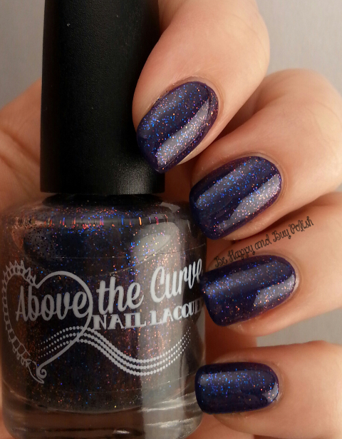 Above the Curve Wibbly Wobbly Timey Wimey over Sinful Colors Enchanted | Be Happy And Buy Polish