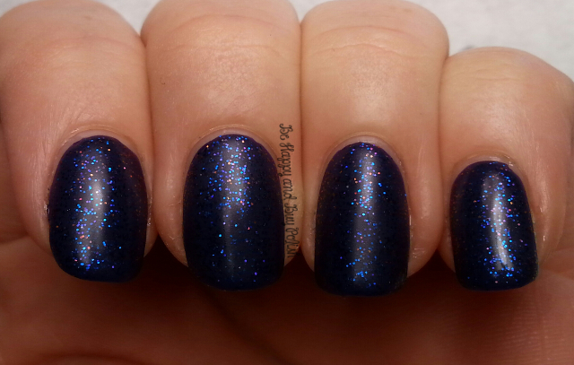 Above the Curve Wibbly Wobbly Timey Wimey over Sinful Colors Enchanted   Be Happy And Buy Polish