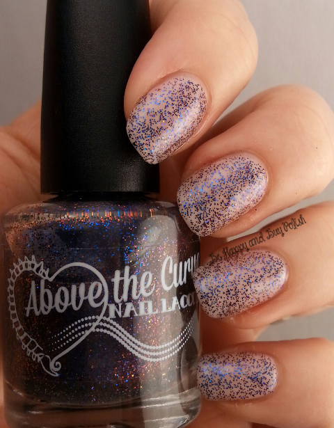 Above the Curve Wibbly Wobbly Timey Wimey over Sinful Colors Cupids Arrow | Be Happy And Buy Polish