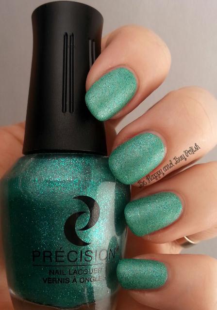 Précision Nail Lacquer After Dinner Mints over Précision Nail Lacquer McDreamy | Be Happy And Buy Polish