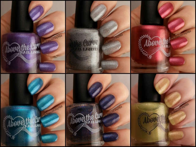 Above the Curve Doctor Who nail polish part 2 | Be Happy And Buy Polish