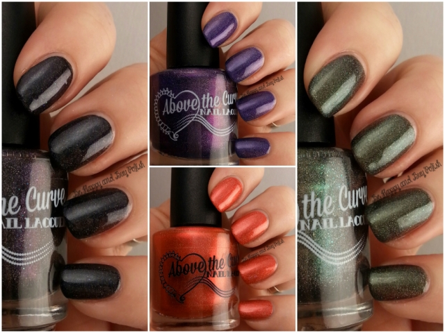 Above the Curve Doctor Who nail polish collection | Be Happy And Buy Polish