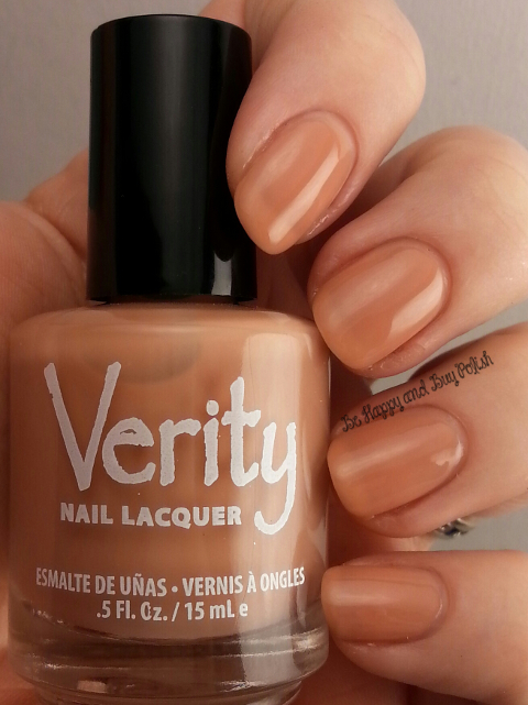 Verity Nail Lacquer Cappuccino | Be Happy And Buy Polish