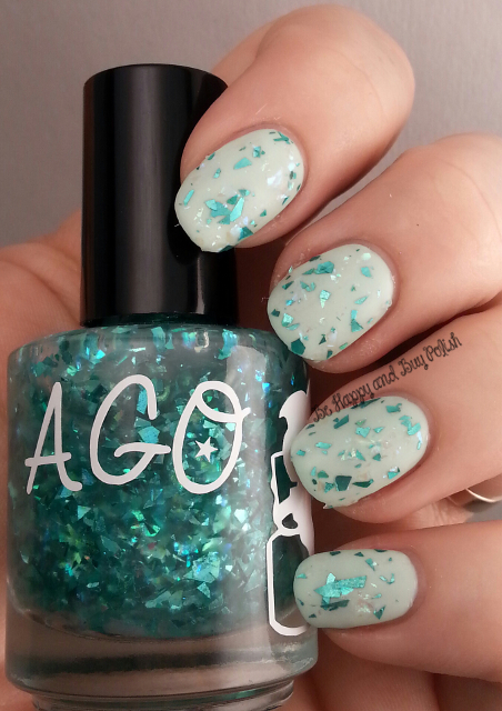 A Girl Obsessed Cold Shattered Heart over AGO But He Loves Me   Be Happy And Buy Polish