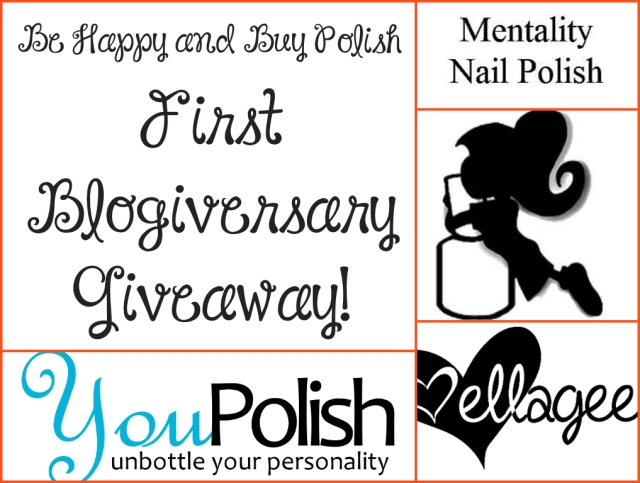 Be Happy And Buy Polish First Blogiversary Giveaway