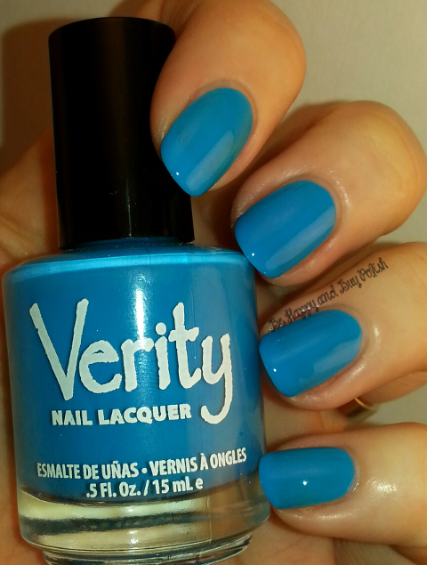 Verity Nail Lacquer Hot Baby Blue | Be Happy And Buy Polish