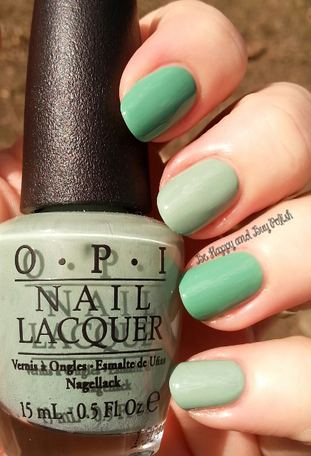 Précision Nail Lacquer McDreamy compared to OPI Mermaids Tears | Be Happy And Buy Polish
