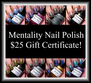 Mentality giveaway | Be Happy And Buy Polish
