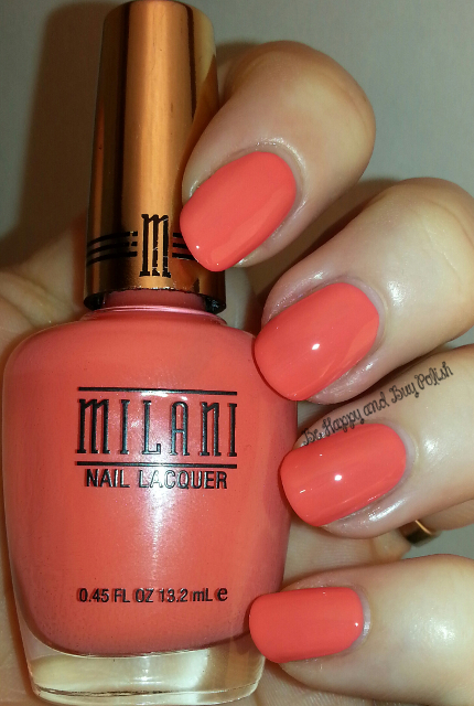 Milani Colorful Coral | Be Happy And Buy Polish