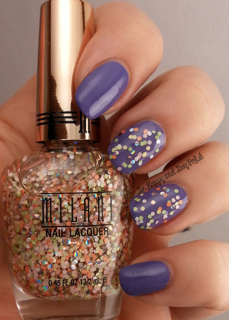 Milani Sugar Rush over Milani Vivid Violet | Be Happy And Buy Polish