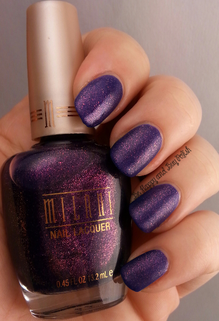 Milani Totally Cool over Milani Purple Martin | Be Happy And Buy Polish