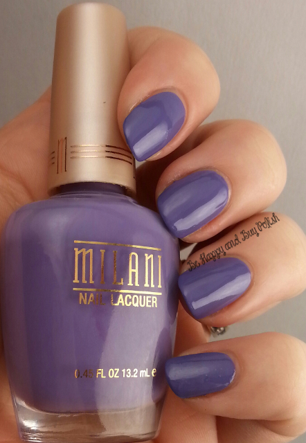 Milani Vivid Violet compared to Milani Purple Martin | Be Happy And Buy Polish
