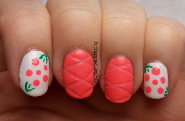 Quilted Nails and Flowers | Be Happy and Buy Polish