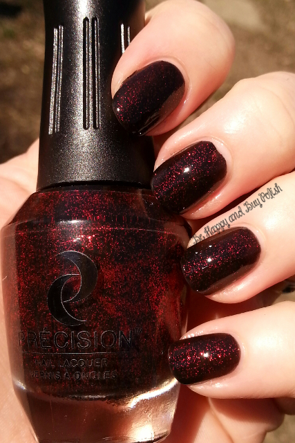 Précision Nail Lacquer Rebel Red In You | Be Happy And Buy Polish
