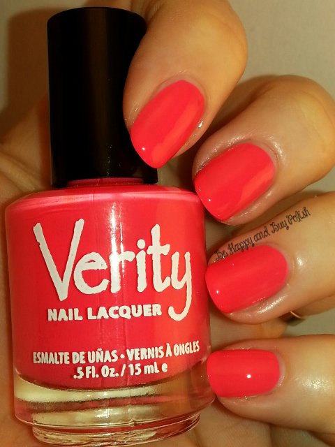 Verity Nail Lacquer Red Poppies | Be Happy And Buy Polish