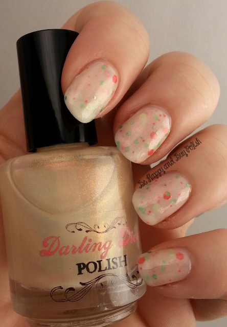 Darling Diva Polish Ringer Goes Blonde over Darling Diva Polish Honey Do | Be Happy And Buy Polish