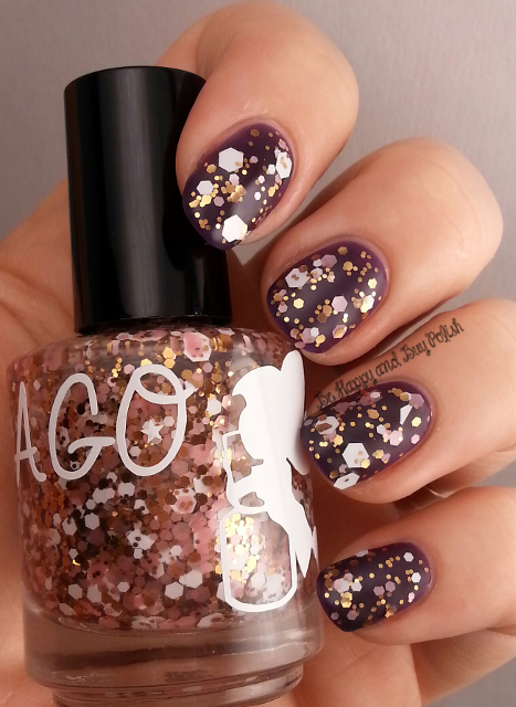 A Girl Obsessed Soft Kitty over ellagee Manganese Glass | Be Happy And Buy Polish
