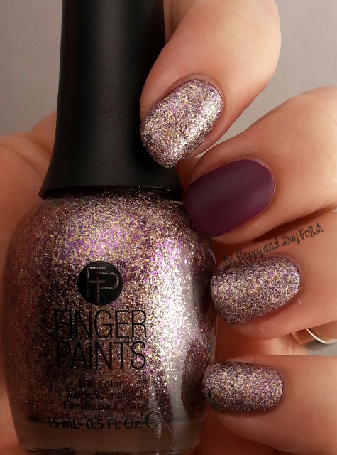 Finger Paints Stargazing Lilac, Pretty as a Portrait | Be Happy And Buy Polish