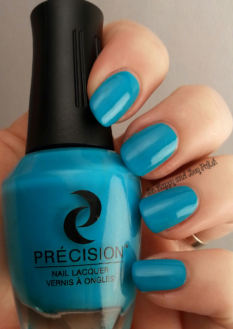 Précision Nail Lacquer Surfin' in Maliblue | Be Happy And Buy Polish