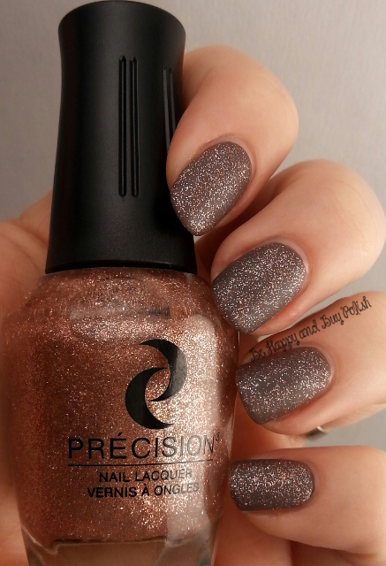 Précision Nail Lacquer Taupe It Off With Sprinkles over Précision You're In De-nile River | Be Happy And Buy Polish