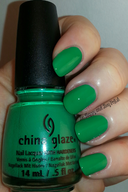 China Glaze Four Leaf Clover | Be Happy And Buy Polish