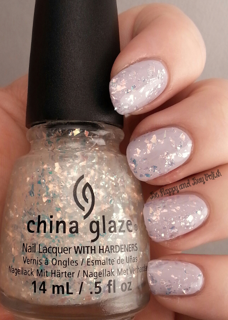China Glaze Light as Air, China Glaze Luxe Lush | Be Happy And Buy Polish