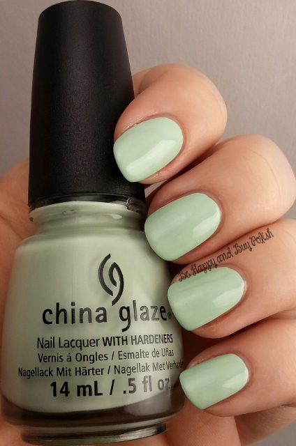 China Glaze Refreshmint | Be Happy And Buy Polish