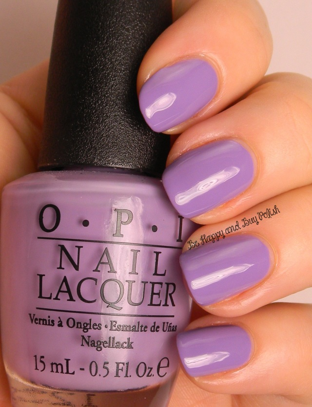 OPI Do You Lilac It | Be Happy And Buy Polish