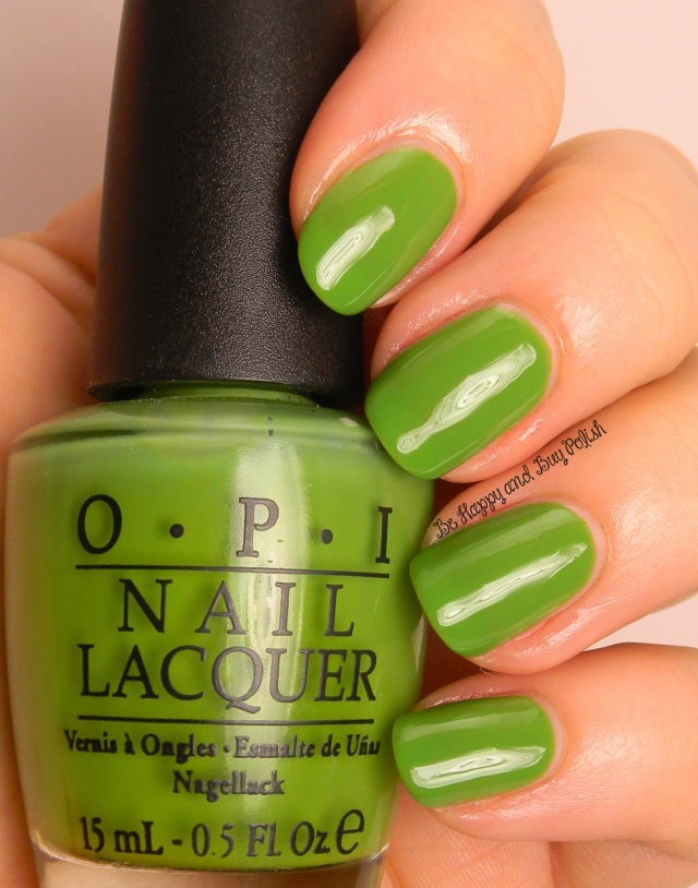 OPI Greenwich Village | Be Happy And Buy Polish