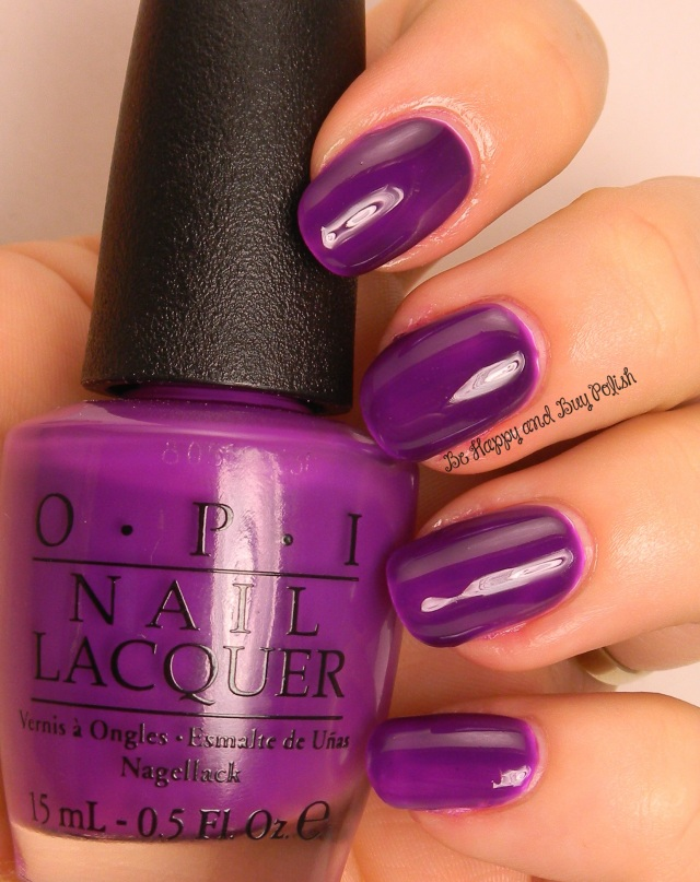 OPI Push & Pur-pull | Be Happy And Buy Polish