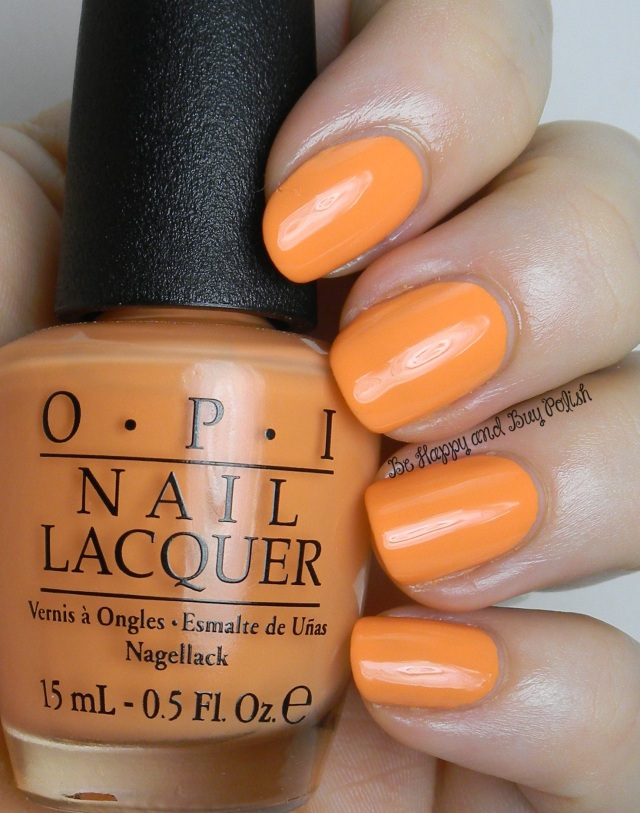 OPI Where Did Suzi's Man-go | Be Happy And Buy Polish