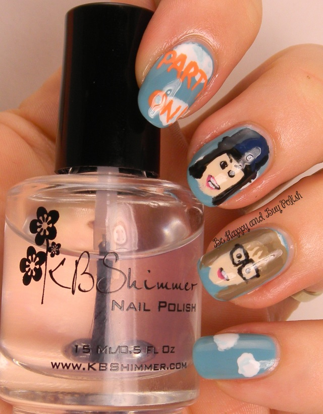 Wayne's World Nail Art | Be Happy And Buy Polish