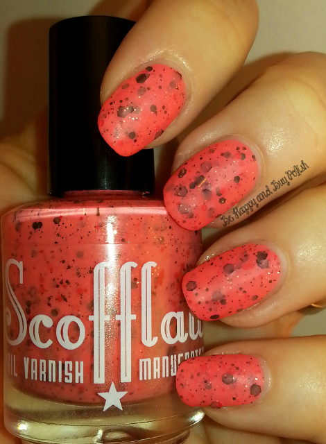Scofflaw Nail Varnish Your Cat Ain't Cute | Be Happy And Buy Polish
