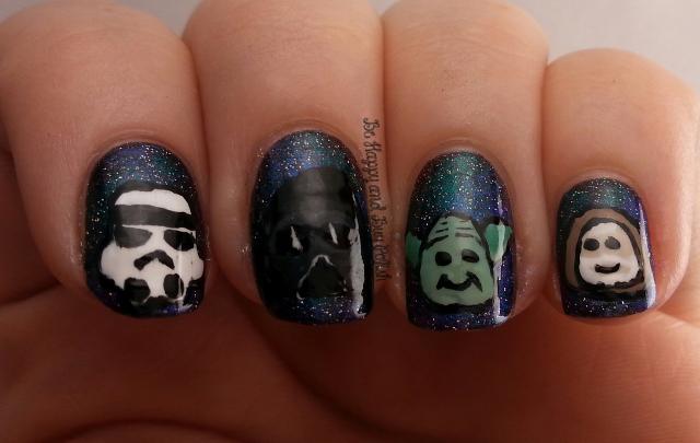 Star Wars nail art | Be Happy And Buy Polish
