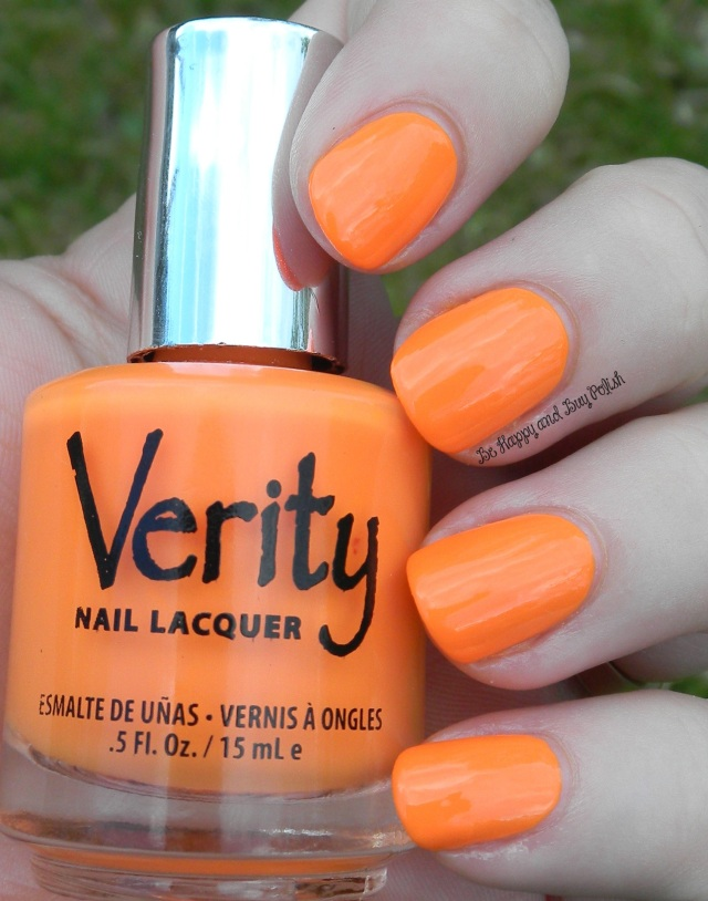 Verity Nail Lacquer Creamy Peaches | Be Happy And Buy Polish