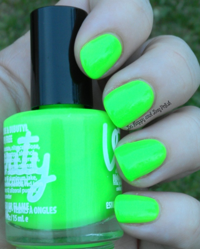 Verity Nail Lacquer Out Green | Be Happy And Buy Polish