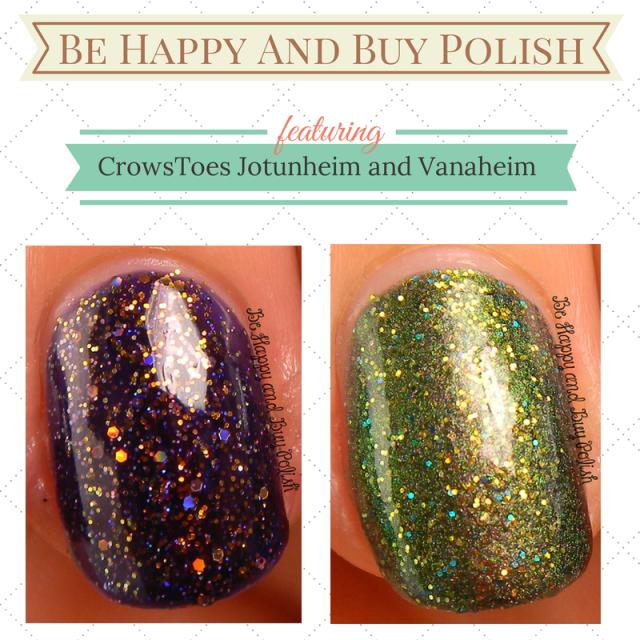 CrowsToes Jotunheim and Vanaheim | Be Happy And Buy Polish