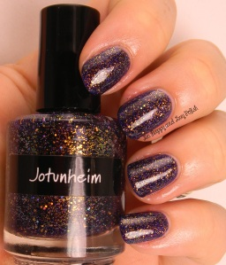 CrowsToes Jotunheim with KBShimmer Clearly On Top | Be Happy And Buy Polish