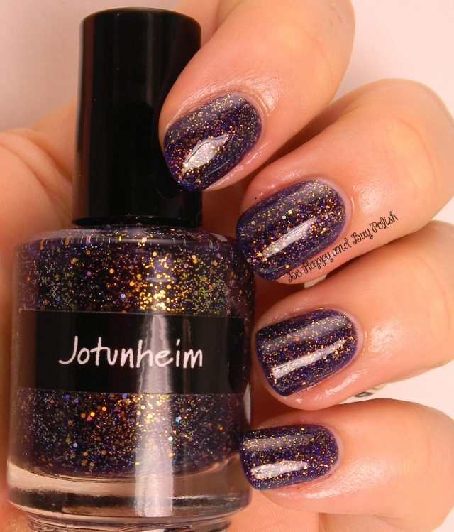 CrowsToes Jotunheim with KBShimmer Clearly On Top   Be Happy And Buy Polish