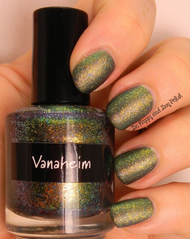 CrowsToes Vanaheim with AGO MatteIct top coat | Be Happy And Buy Polish