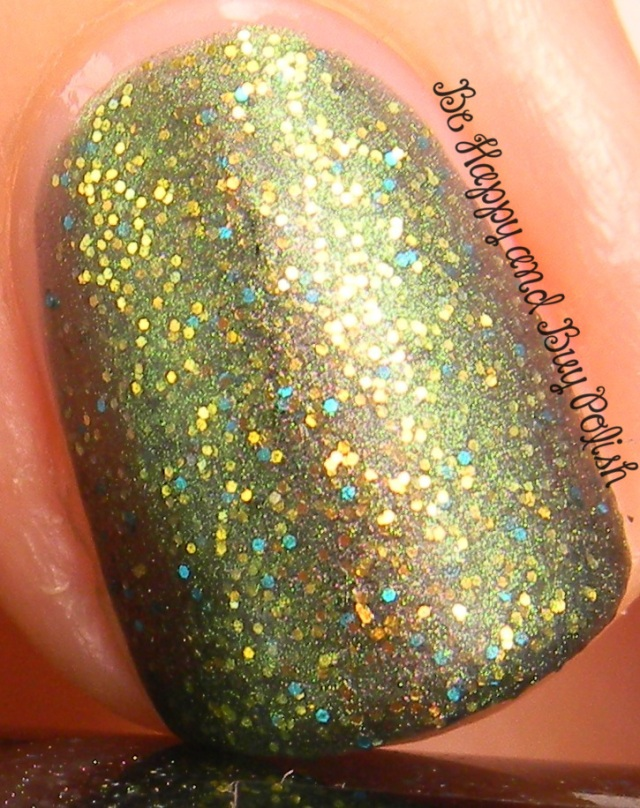 CrowsToes Vanaheim with AGO MatteIct top coat   Be Happy And Buy Polish