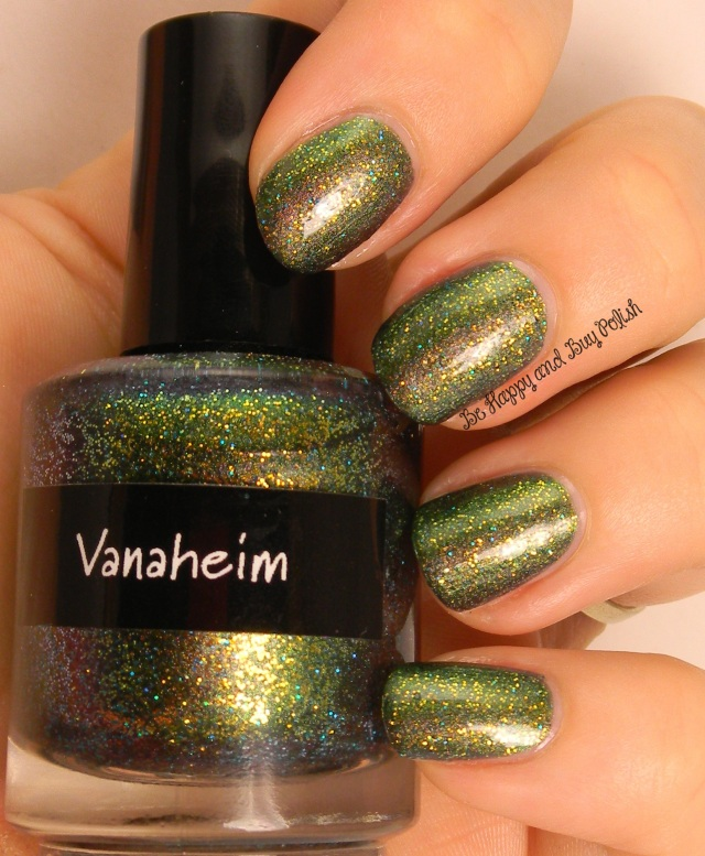 CrowsToes Vanaheim with KBShimmer Clearly On Top   Be Happy And Buy Polish