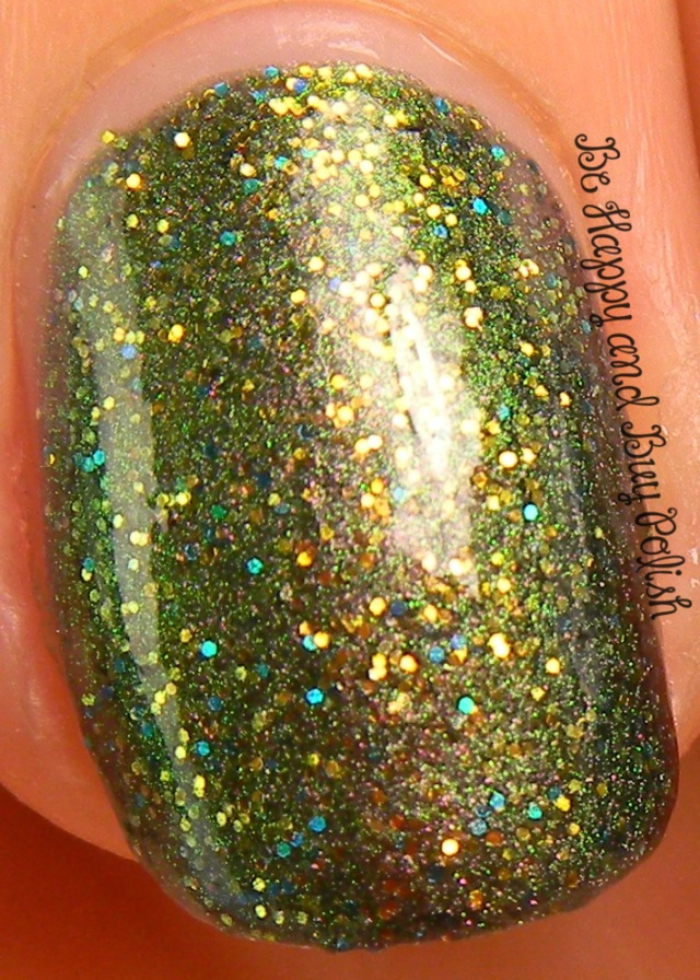 CrowsToes Vanaheim with KBShimmer Clearly On Top | Be Happy And Buy Polish