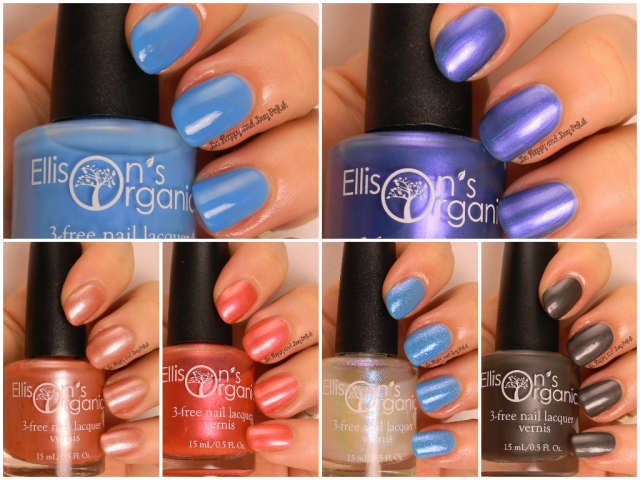 Ellison's Organics nail polishes | Be Happy And Buy Polish